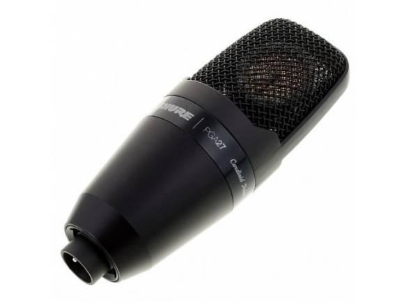 Microfones de estúdio Shure PGA27