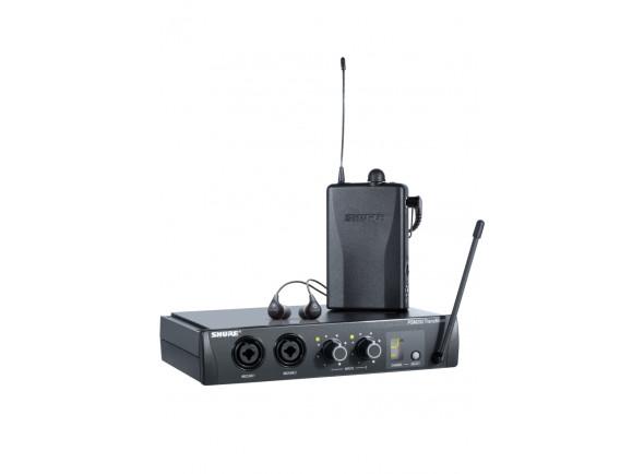 Monitorização in-ear Wireless Shure  PSM-200 - SE112 Set H2