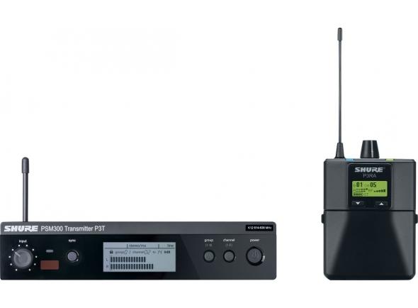 Monitorização in-ear Wireless Shure PSM 300 Premium K3E