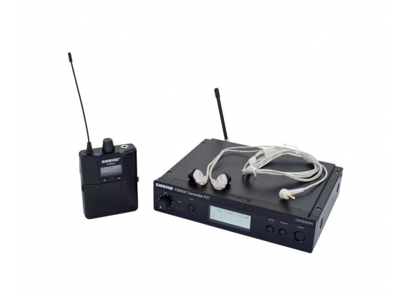 Monitorização in-ear Wireless Shure PSM 300 Premium SE215 K3E