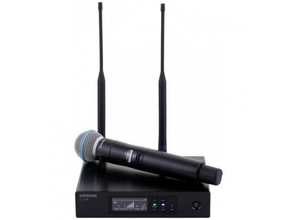 Sistema sem fios com microfone de mão Shure QLXD24/KSM9