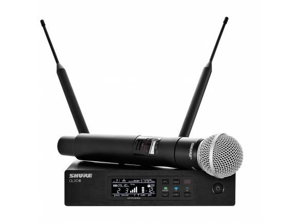 Sistema sem fios com microfone de mão Shure QLXD24/SM58 H51