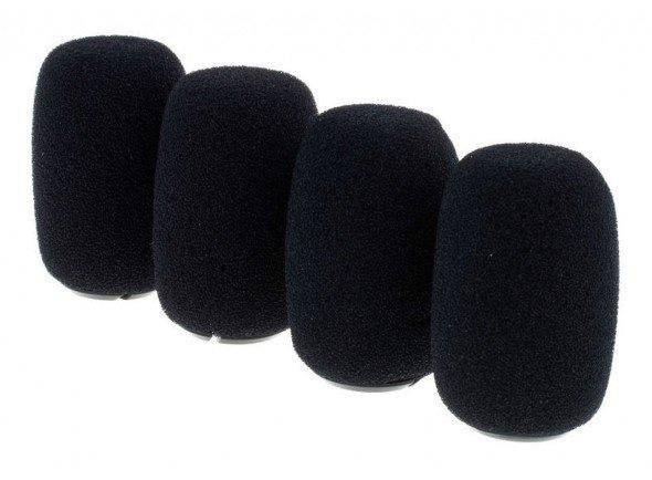 Protecção de vento para microfone/Protecção de vento para microfone Shure RK412WS