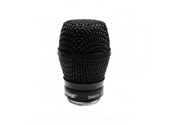 Cabeças para microfones/Cabeças para microfones Shure RPW116SM87