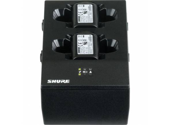 Pocket e Recetor Shure SBC200