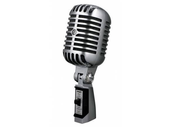 Microfone Vocal Dinâmico Shure SH55 Series II