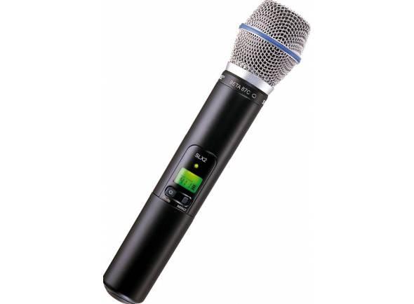 Microfones para sistema sem fios Shure SLX2/BETA87C L4E