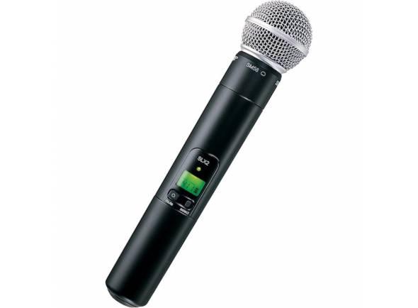 Microfones para sistema sem fios Shure SLX2/SM58 L4E