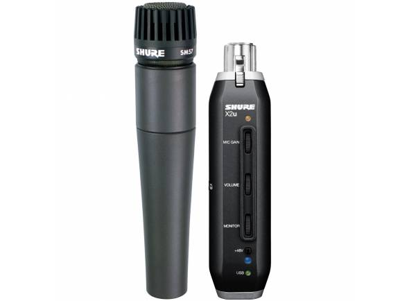 Microfone dinâmico Shure SM57X2U