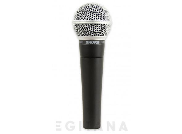 Microfone Vocal Dinâmico Shure SM58 LC