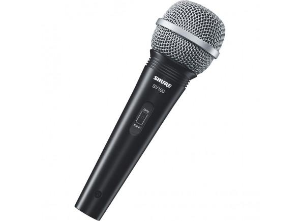 Microfone Vocal Dinâmico Shure  SV100