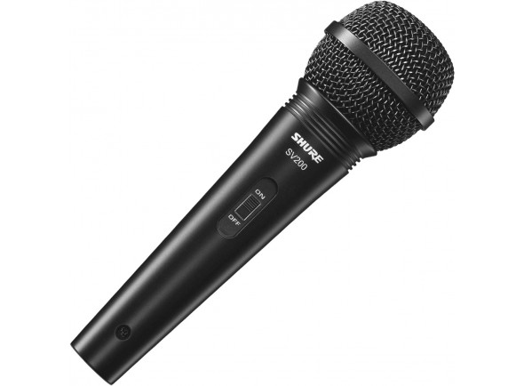 Microfone Vocal Dinâmico Shure  SV200