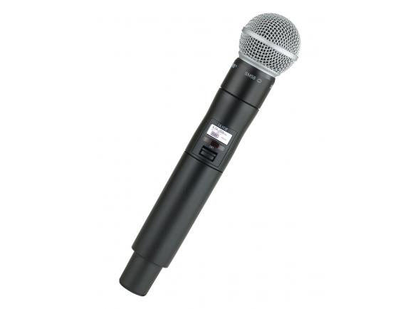 Sistema sem fios com microfone de mão Shure ULXD2/SM58