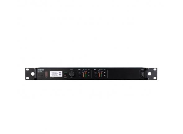 Transmissão de audio sem fio  Shure ULXD4DE