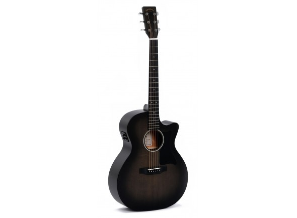 Outras guitarras acústicas Sigma Guitars GMC-STE-BKB+