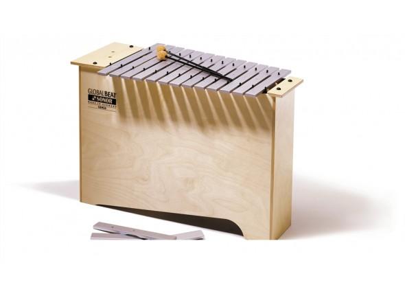Metalofone /Instrumento Orff Sonor MGB GB Deep Bass Metallophone