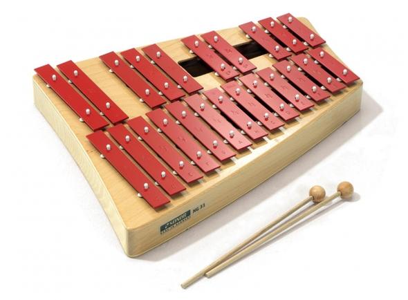 Instrumento Orff Sonor NG31 Alto Glockenspiel