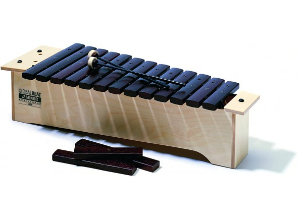 Xilofone/Instrumento Orff Sonor  SX GB Xilofon Global Beat Sopran