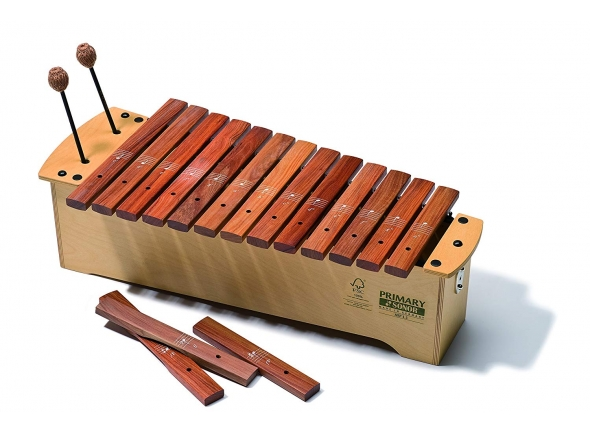 Instrumento Orff Sonor Xilofone GBXP1 Primary Line Baixo Diatónico