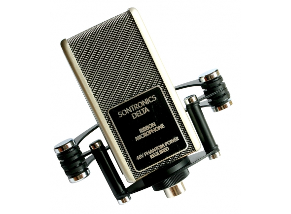 Microfones de fita/Microfones de estúdio Sontronics Delta 2