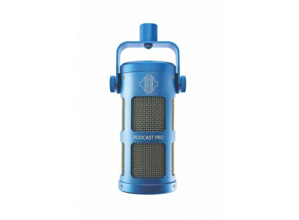 Microfone Vocal Dinâmico Sontronics  Podcast Pro - Blue