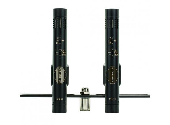 Microfone condensador membrana pequena Sontronics STC-1S MT BK