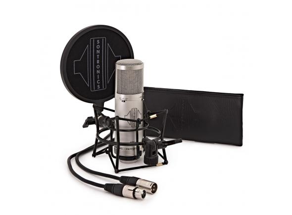 Microfone de membrana grande Sontronics STC-3X Pack silver