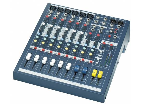 Mesa de Mistura Analógica Soundcraft EPM 6