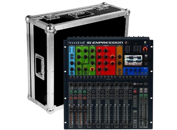 Mesas de mistura digitais Soundcraft SiEx1 Case Bundle