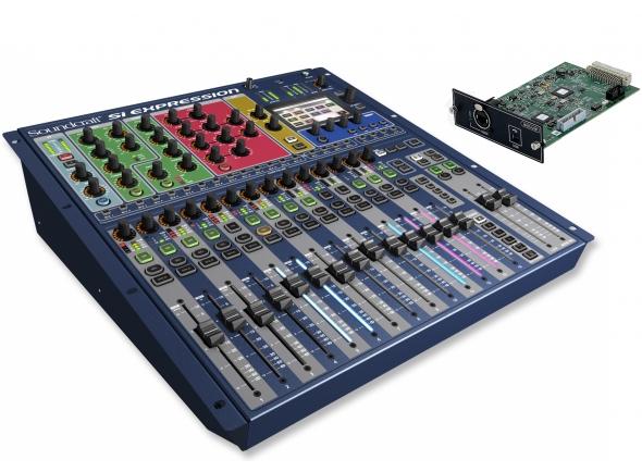 Mesas de mistura digitais Soundcraft SiEx1 MADI-USB Set