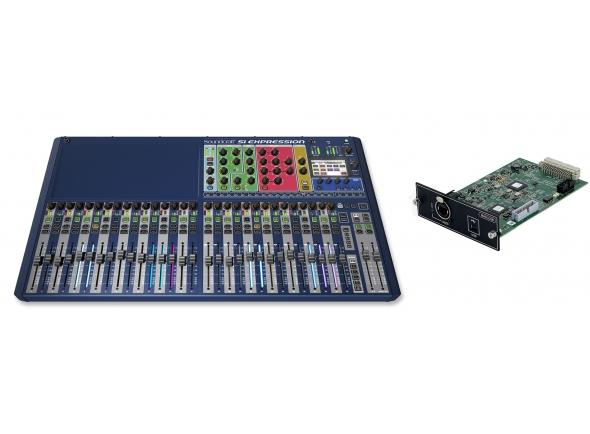 Mesas de mistura digitais Soundcraft SiEx3 MADI-USB Bundle