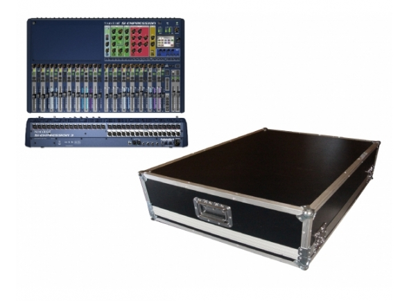 Mesas de mistura digitais Soundcraft SiEx3 Mixer Case Bundle