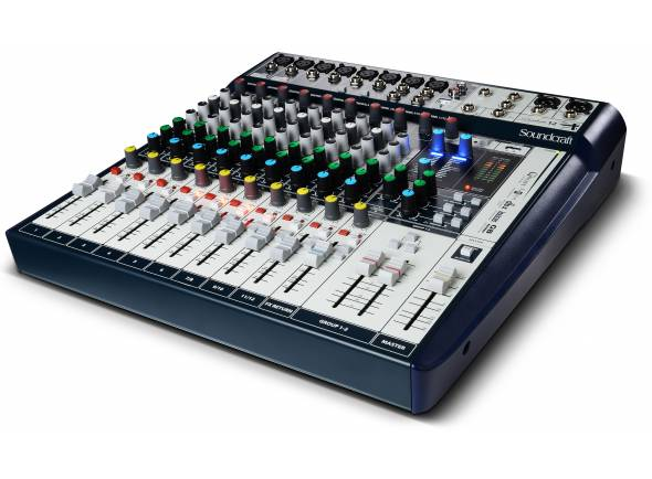 Mesa de Mistura Analógica Soundcraft Signature 12