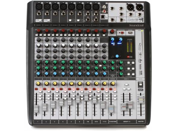 Mesa de Mistura Analógica Soundcraft Signature 12MTK