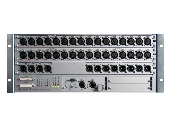 Stageboxes Soundcraft VI CSB 16 RJ 45
