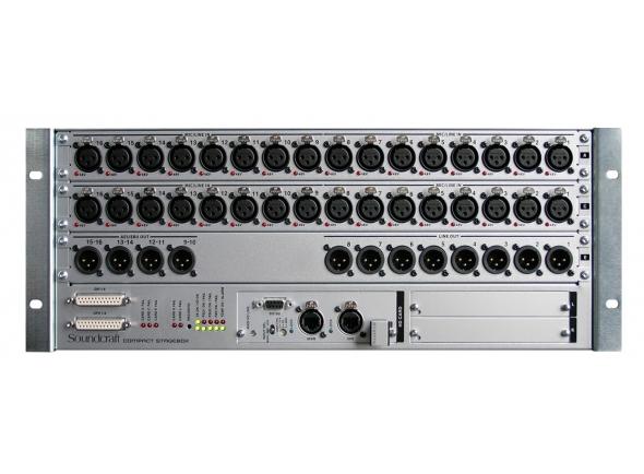 Sistemas multicore digitais Soundcraft VI CSB RJ 45