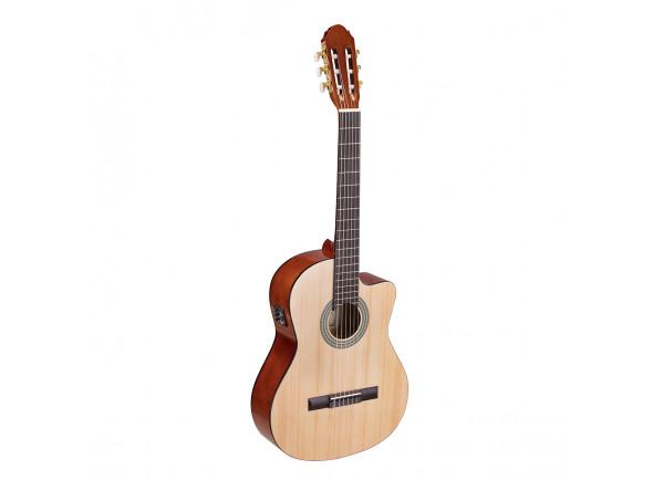 Guitarras clássicas eletrificadas Soundsation Toledo Primera Spruce CE 44-NT