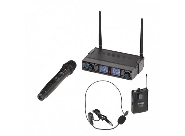 Sistema sem fios com microfone de mão Soundsation WF-D 290HP