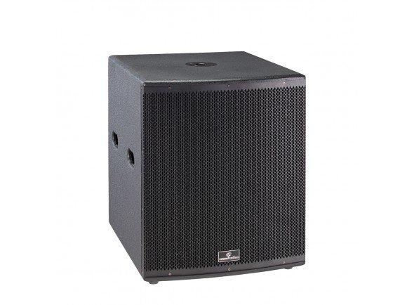 Colunas Subwoofer graves amplificadas/Colunas Subwoofer graves amplificadas Soundsation Hyper Bass 18A