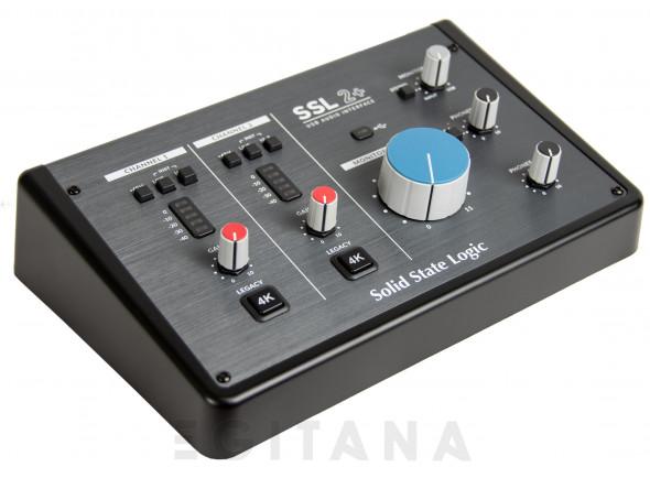 Interface Áudio USB SSL 2+ 2-Channel USB Audio Interface