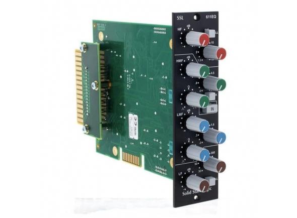 Equalizadores gráficos SSL 500-Series 611 EQ