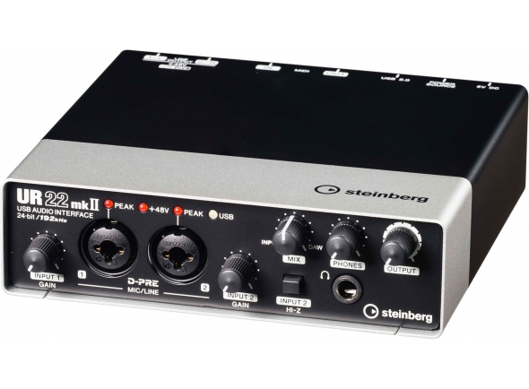 Interface Áudio USB Steinberg UR22 MK2