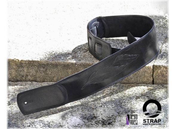 Correia de couro Strap st1dnv1-2 Correia de Baixo em Pele