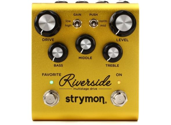 Pedal de distorção Strymon Riverside