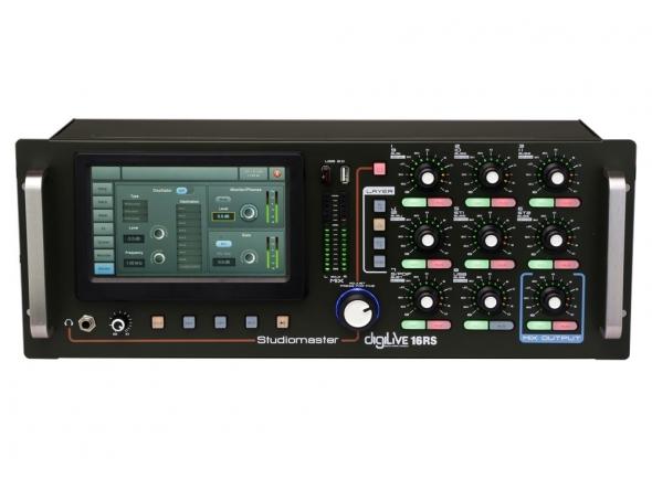 Ver mais informações do  Studiomaster Digilive 16RS