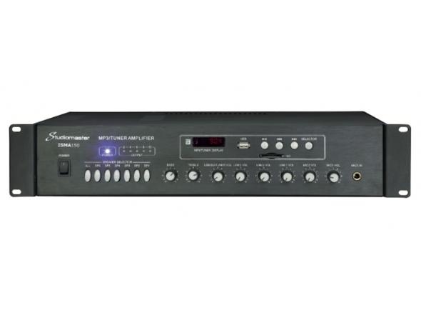 Amplificadores para Instalação/Amplificadores Studiomaster ISMA150