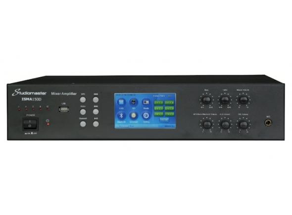 Amplificadores para Instalação/Amplificadores Studiomaster ISMA150D