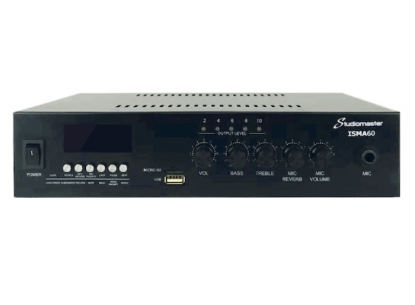 Amplificadores para Instalação/Amplificadores Studiomaster ISMA60