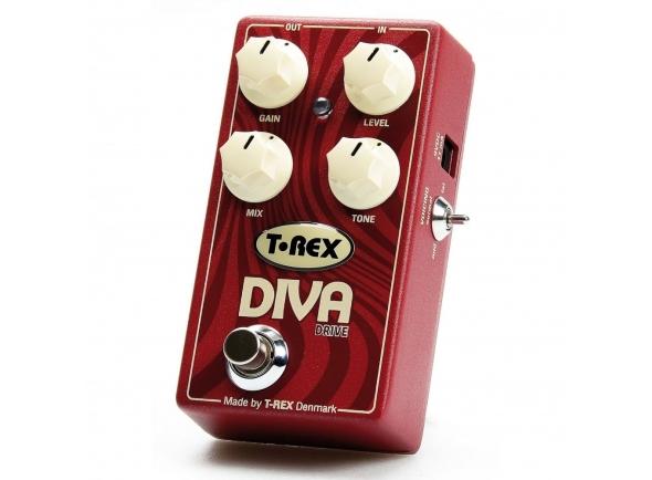 Pedal de distorção T-REX Diva Drive