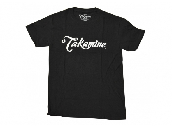 T-Shirt/Diversos Takamine Logo Black Medium